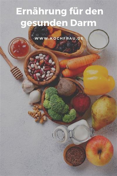 Ernährung für einen gesunden Darm
