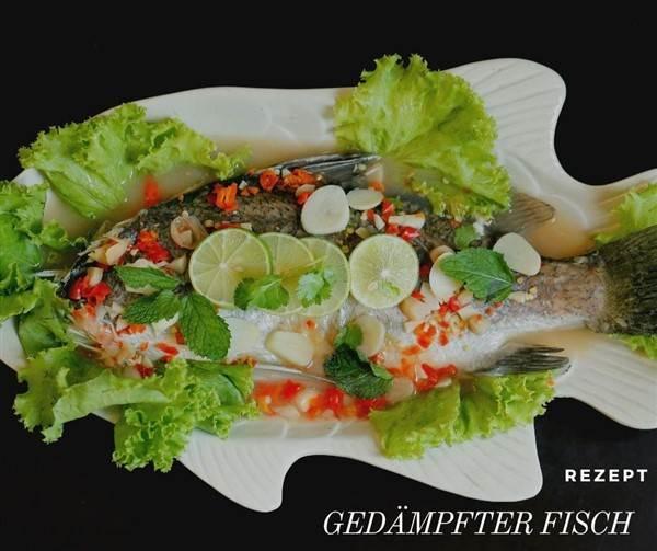 Rezept Gedämpfter Fisch